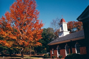 Church Fall Photo